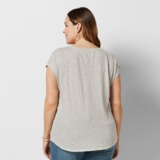 Plus Size SONOMA Goods for Life™ Paisley Graphic Tee