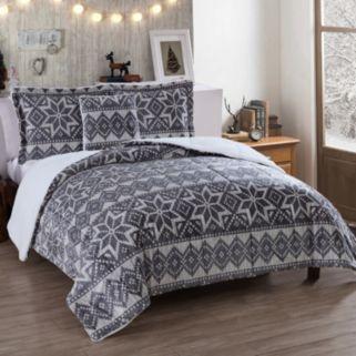 VCNY Mink Holiday Comforter Set