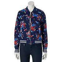 Juniors' SO® Twill Bomber Jacket