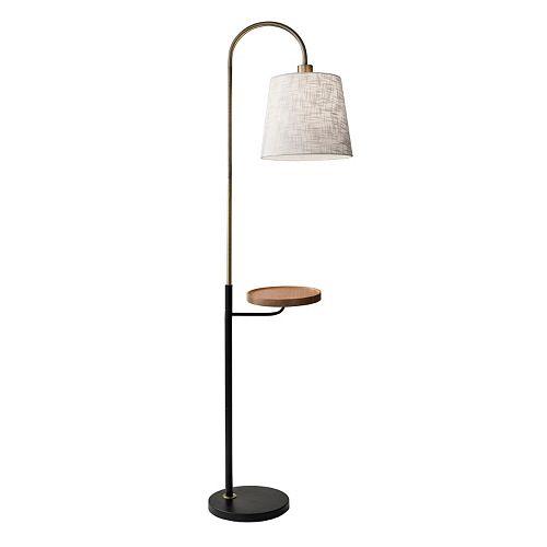 Adesso Jeffrey USB Charging Station Floor Lamp