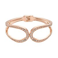 Jennifer Lopez Loop Hinged Bangle Bracelet