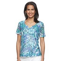 Women's Napa Valley Printed Lace Tee