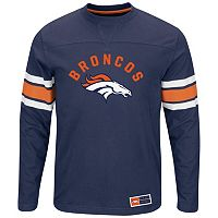Big & Tall Majestic Denver Broncos Power Hit Tee