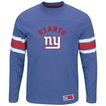 Big & Tall Majestic New York Giants Power Hit Tee