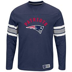 Big & Tall Majestic New England Patriots Power Hit Tee