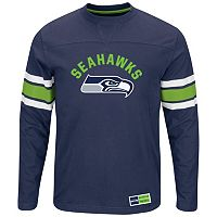 Big & Tall Majestic Seattle Seahawks Power Hit Tee