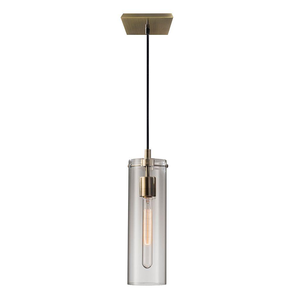 Adesso Dalton Tubular Edison Bulb Pendant Light