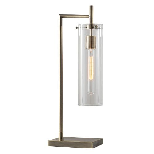 Adesso Dalton Tubular Edison Bulb Table Lamp