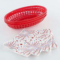 Farberware Burger Basket & Liner Set