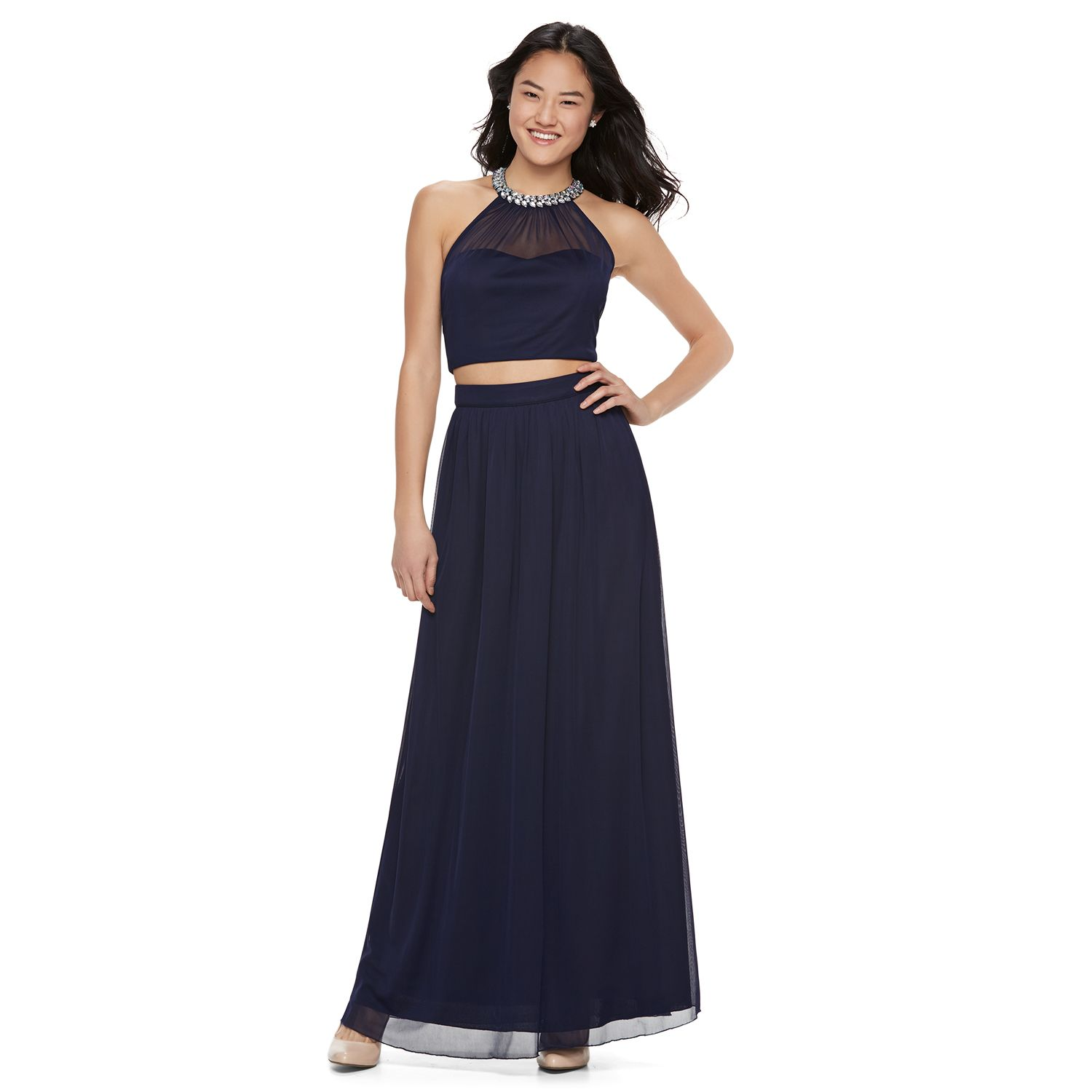 X back prom dresses on clearance
