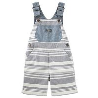 Baby Boy OshKosh B'gosh® Striped Shortalls