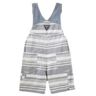 Baby Boy OshKosh B'gosh® Striped Shortalls