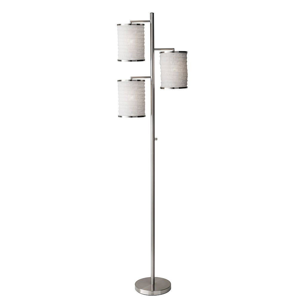 Adesso Bellows Tree 3-Light Floor Lamp