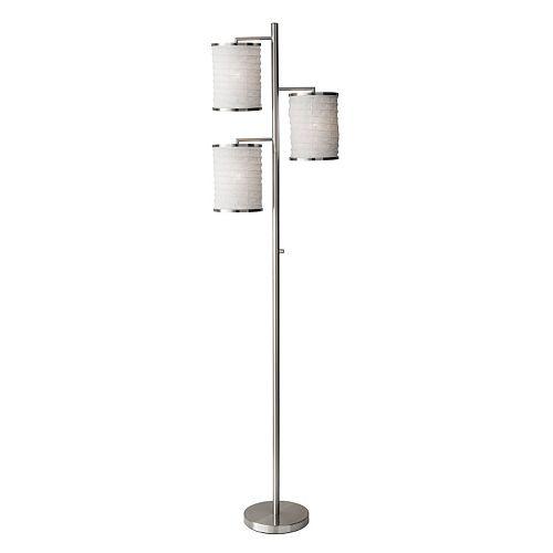 Adesso Bellows Tree 3-Light Floor Lamp