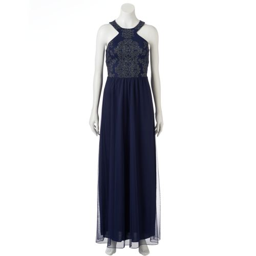 Juniors' Speechless Embellished Formal Dress
