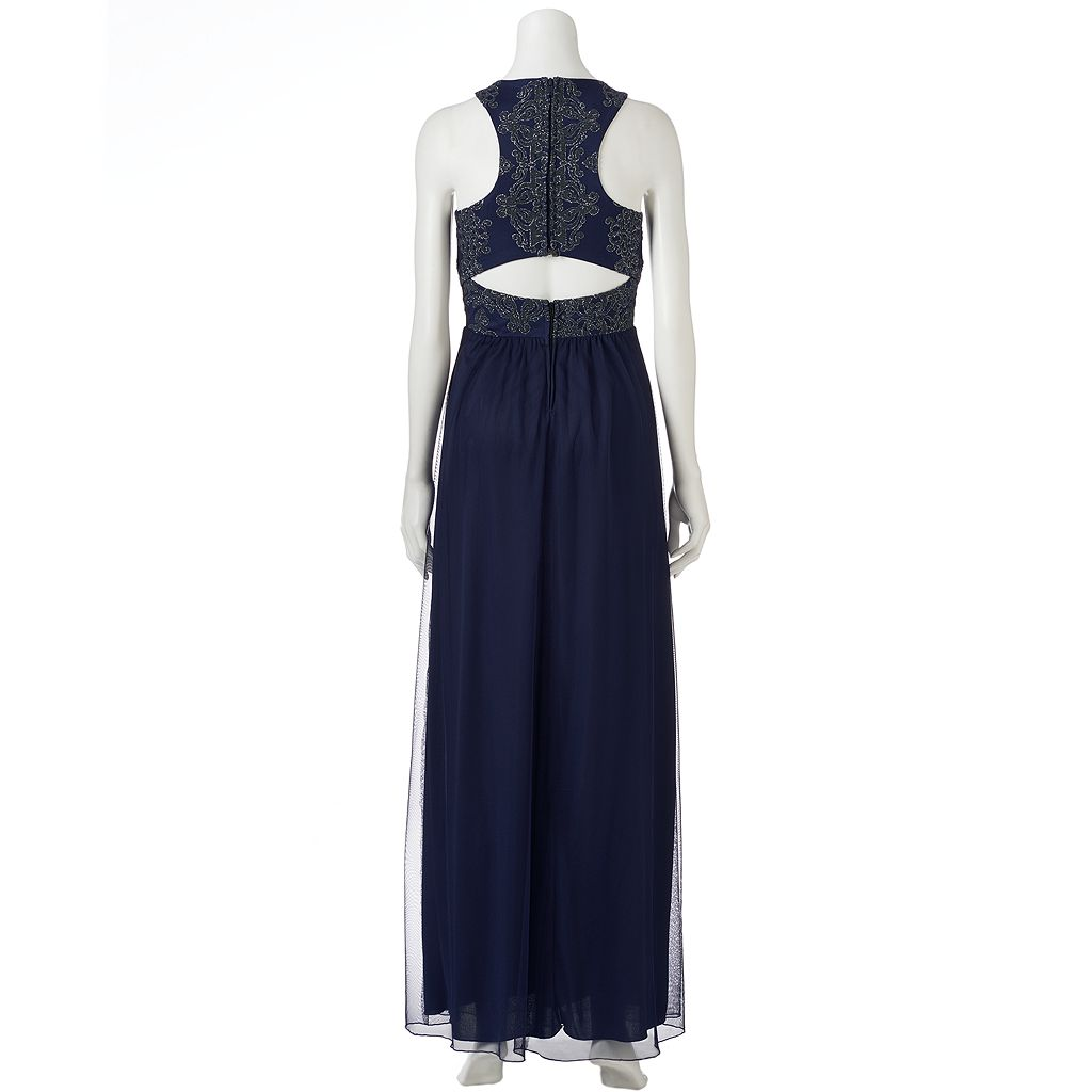 Juniors' Speechless Embellished Formal Dress