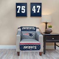 New EnglandPatriots Quilted Chair Cover