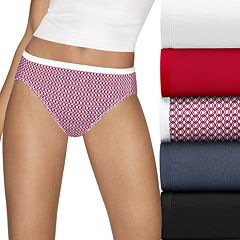 Hanes Ultimate 5-pk. Ultra Soft Cotton Comfort Hi-Cut Briefs 43HUCC