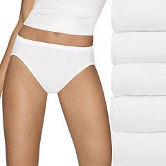 Hanes Ultimate 5-pk. Ultra Soft Cotton Comfort Hi-Cut Briefs 43HUCC