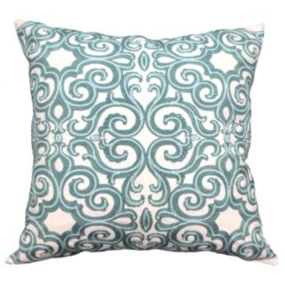 Belem Embroidered Throw Pillow