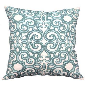Belem Embroidered Throw Pillow