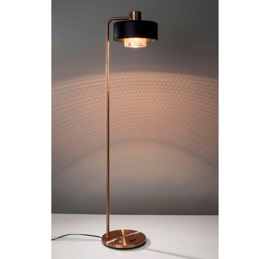 Adesso Bradbury Contrast Copper Finish Floor Lamp