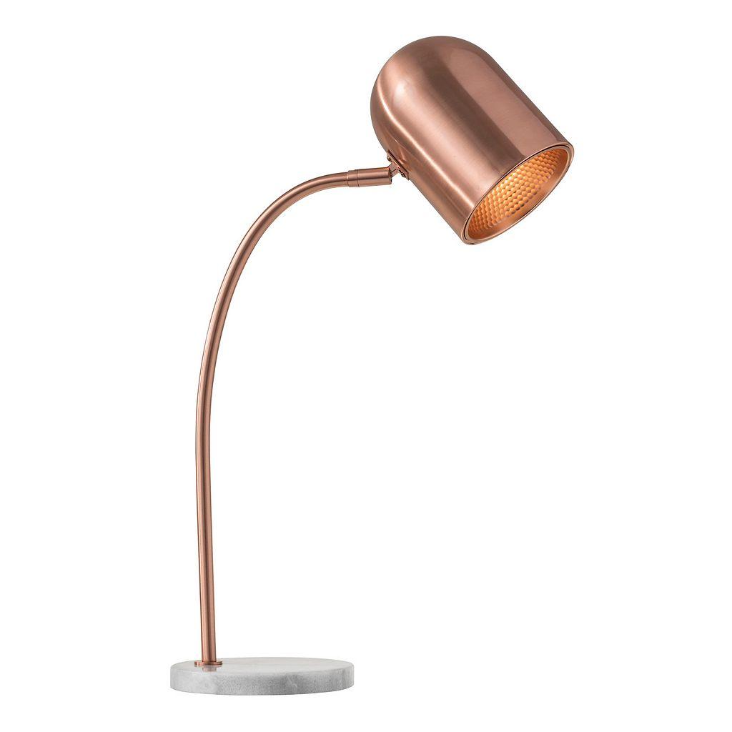Adesso Simone Copper Finish Desk Lamp