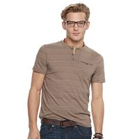Men's Rock & Republic Textured Henley Tee