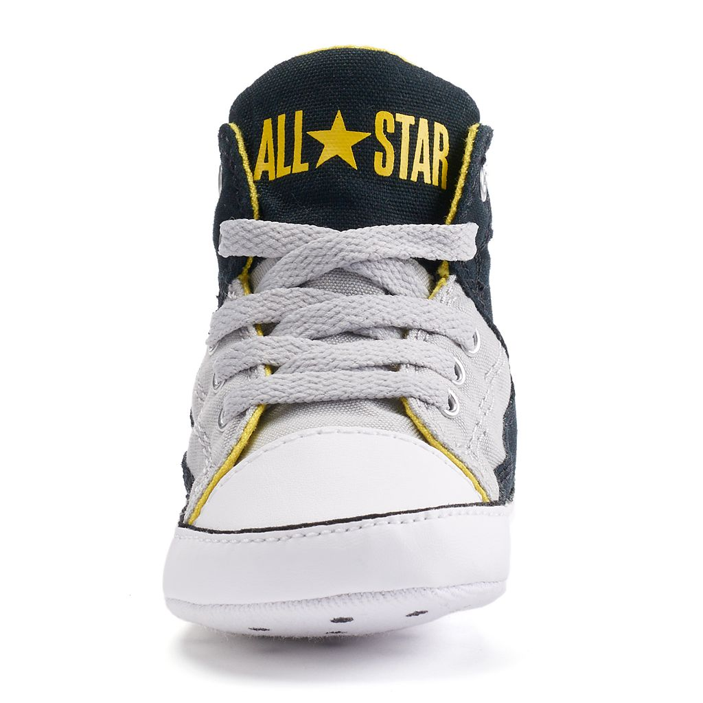 Baby Converse All Star First Star High Street Crib Shoes