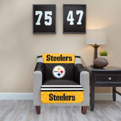 Pittsburgh Steelers Quilted Chair Cover