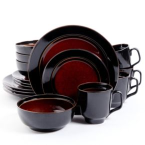 Gibson Elite Bella Galleria 16-pc. Round Dinnerware Set