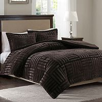 Madison Park Artic Faux Fur Down Alternative Comforter