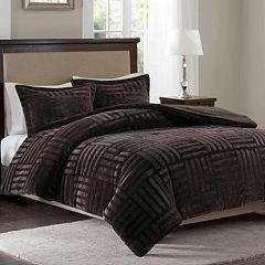 Madison Park Artic Faux Fur Down Alternative Comforter