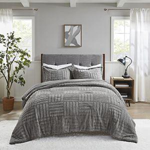 Madison Park Arctic Faux Fur Down-Alternative Comforter