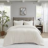 Madison Park Arctic Faux Fur Down-Alternative Comforter