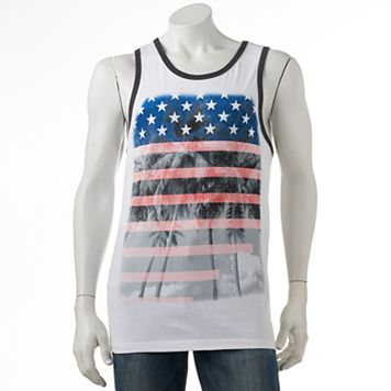 Men's Urban Pipeline® American Palms Tank Top