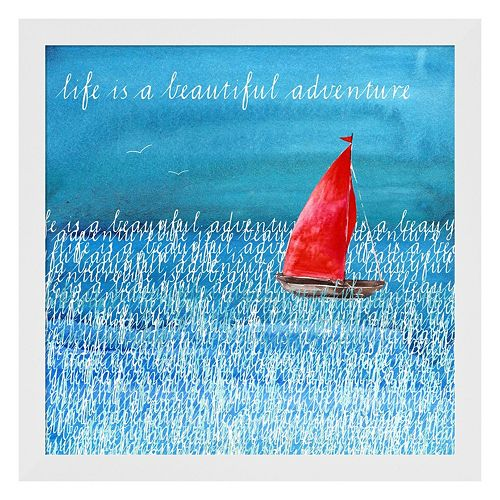 "Metaverse Art ""Beautiful Adventure"" Framed Wall Art"