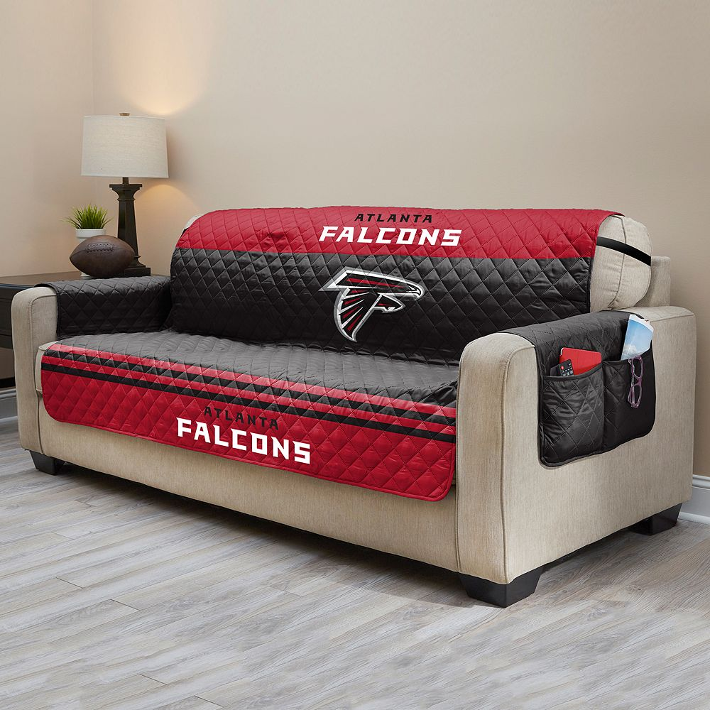 Falcons Quilted Sofa Cover : quilted sofa - Adamdwight.com