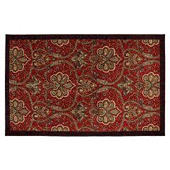 Mohawk® Home Red Barossa Framed Ornate Rug - 5' x 7'