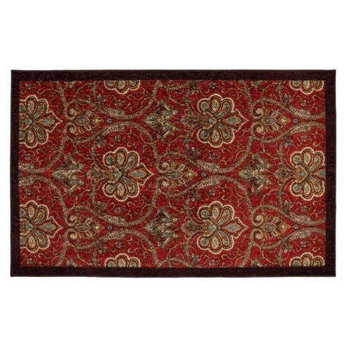Mohawk® Home Red Barossa Framed Ornate Rug - 5