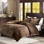 Madison Park Parker Corduroy Plush Comforter Set