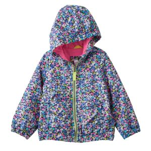 Baby Girl Carter's Hooded Lightweight Print Jacket