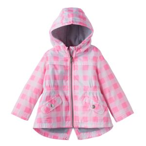 Baby Girl Carter's Heavyweight Print Anorak Jacket