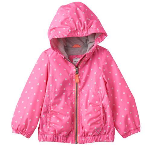 Girl Carter&39s Hooded Lightweight Print Jacket