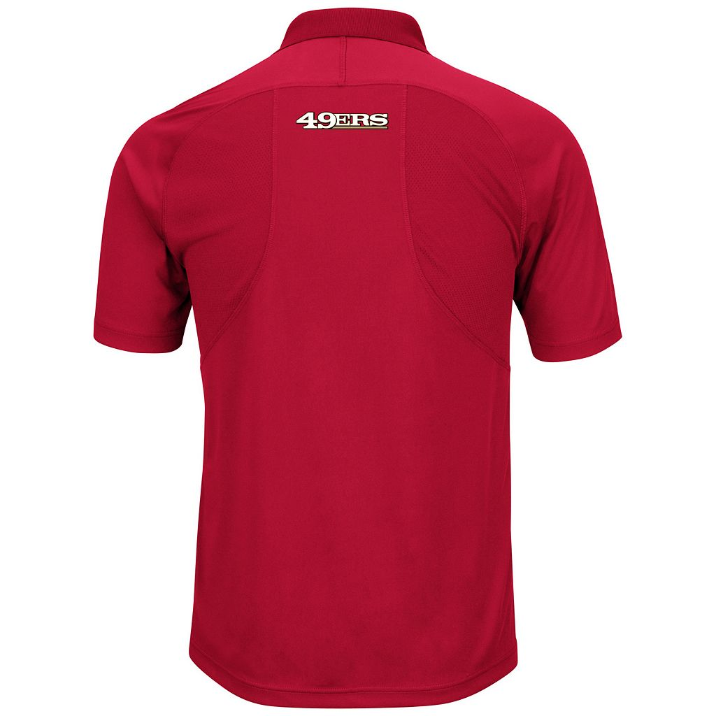 Big & Tall Majestic San Francisco 49ers Synthetic Polo