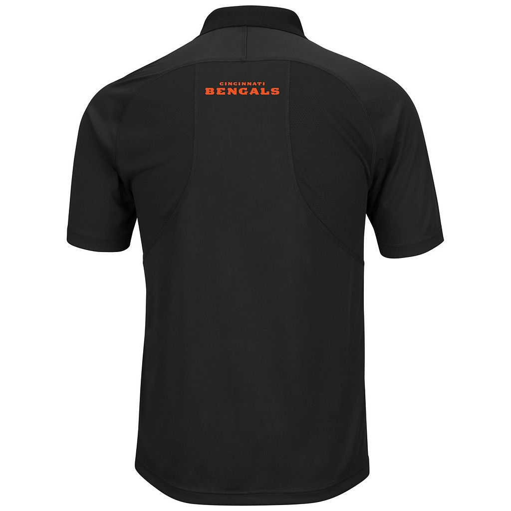 Big & Tall Majestic Cincinnati Bengals Synthetic Polo