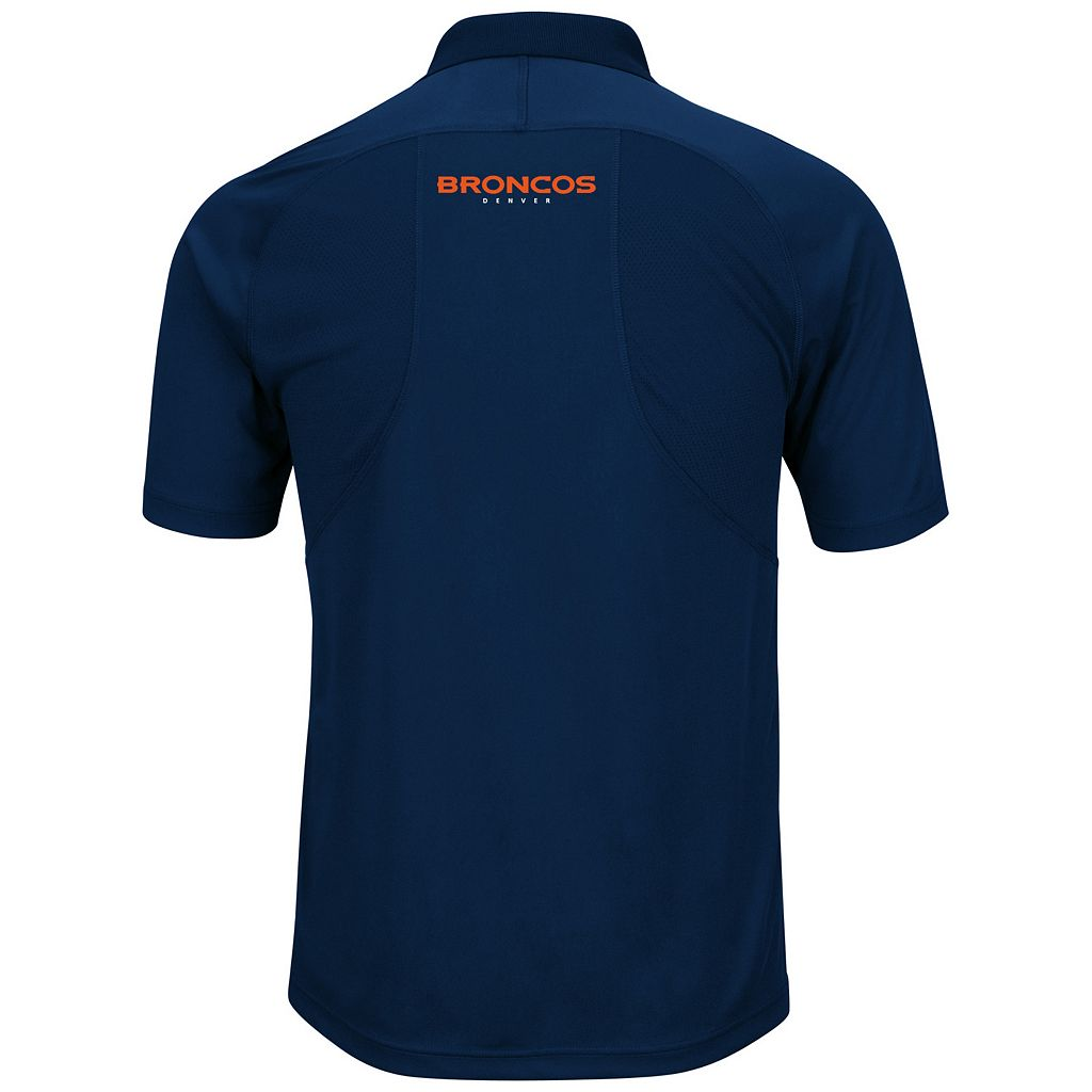Big & Tall Majestic Denver Broncos Synthetic Polo