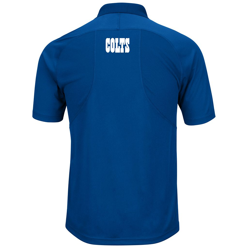 Big & Tall Majestic Indianapolis Colts Synthetic Polo
