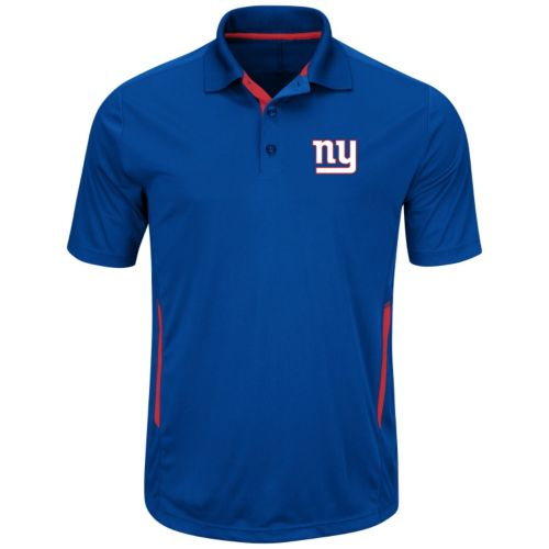 Big & Tall Majestic New York Giants Synthetic Polo