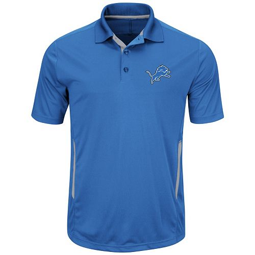 Big & Tall Majestic Detroit Lions Synthetic Polo